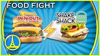 SHAKE SHACK VS IN-N-OUT BURGER, QUI VA GAGNER ? - GET READY SHOW #97
