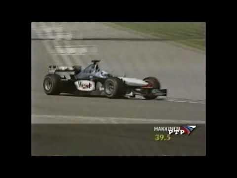 F1 2001 USA Hakkinen Qualifying Lap