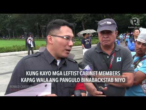 Sideshow: Group goes to Luneta to defend Duterte