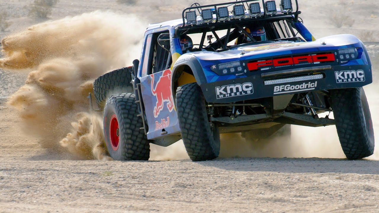 The Menzies Chase Truck Driving Dirty The Road To The Baja 1000