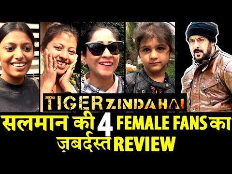 Tiger Zinda Hai: Salman Khan's Female Fans Honest Review!