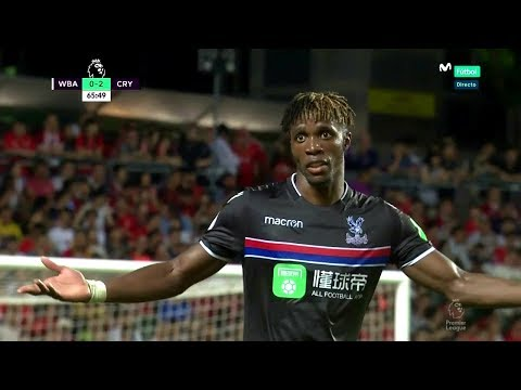 Wilfried Zaha Vs West Brom HD 720p (22/07/2017)