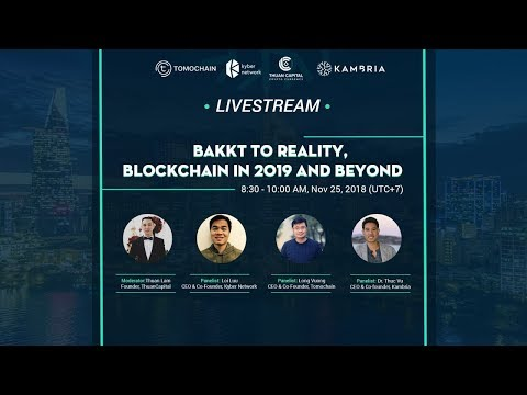 #241 - Live Stream: Bakkt To Reality | Blockchain In 2019 And Beyond