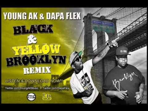 YOUNG AK & DAPA FLEX-BLACK AND YELLOW BROOKLYN REMIX