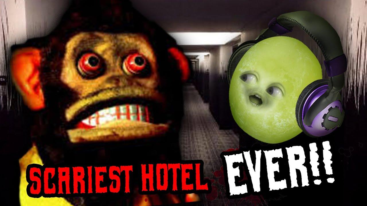 SCARY MONKEY FARTS!! | Horror Hotel