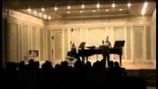 DANIEL PEARL WORLD MUSIC DAYS 2011, LIANA ALEXANDRA: Poem for Romania