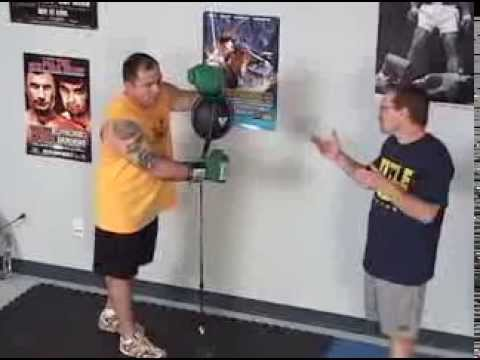 Как Сделать Пневматическую Боксерскую грушу Своими руками - YouTube