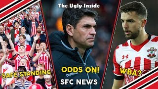 SFC News: Pellegrino to Saints, Safe standing at St. Mary's, Jay Rod to West Brom | The Ugly Inside