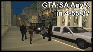 GTA:SA Any% in 4:55:37
