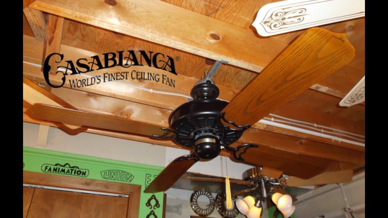 Casablanca Delta Ceiling Fan HD Remake