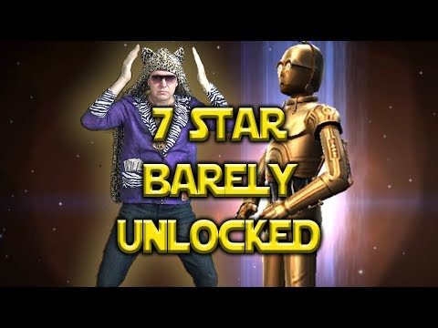 7 Star C3PO Unlocked (Barely) Legendary Event - Star Wars: Galaxy Of Heroes - SWGOH