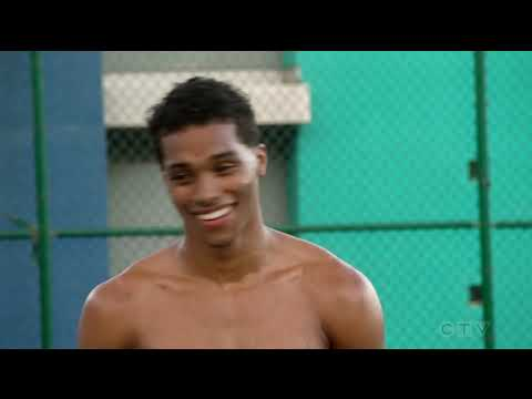 Gabriel Maddox Rome Flynn  shirtless   How to Get Away With Murder 3