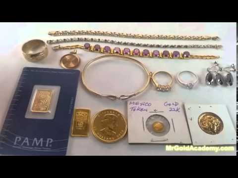 Kinds Types and Forms of Gold Jewelry Coins Bars Chains