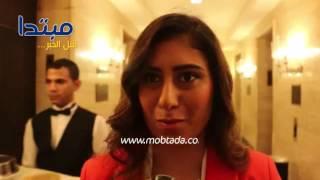 فيديو| نور الشربينى: أشكر كل من كرمنى