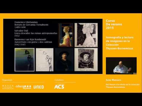 Del lienzo a la viñeta en la colección Thyssen-Bornemisza / Conferencia de Asier Mensuro