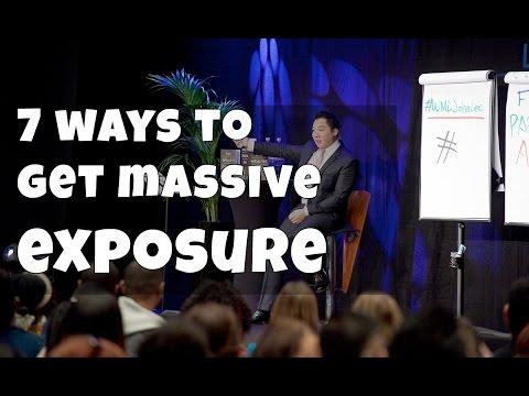 John Lee - 7 ways to get massive exposure