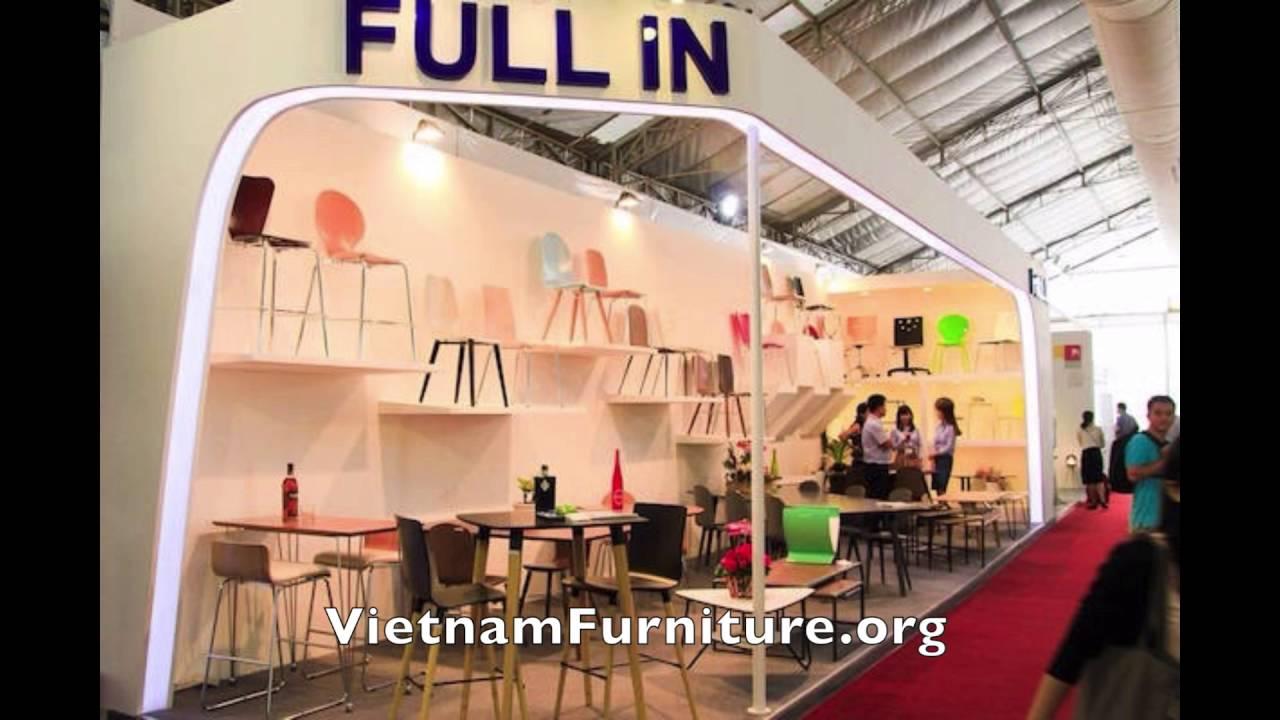 Vietnam international furniture fair 2016 youtube for Vietnam furniture