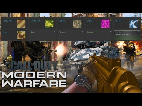 How To Unlock Gold In Modern Warfare! New Camo System Explained COD MW