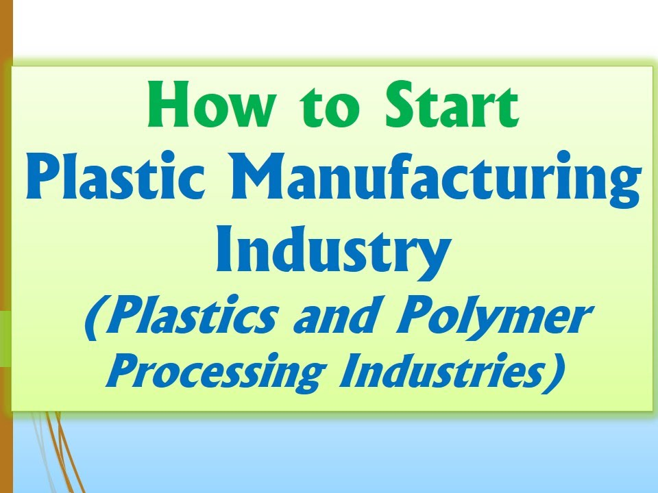 Plastic bags manufacturing business plan