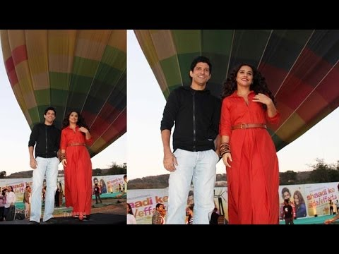 Vidya Balan And Farhan Akhtar Promote 'Shaadi Ke Side/Effects'