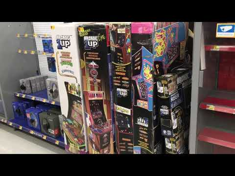 Arcade1Up Walmart Takes Floor Models Off The Floor Being Trashed Arcade 1Up from rarecoolitems