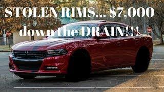 STOLEN RIMS.... $7,000 down the DRAIN!!! 😡😡😡