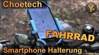 Review: Choetech Smartphone Halterung für Fahrrad-Lenker (bis 5,7″ Smartphone)