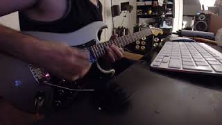 Floydish/Beckish guitar mood pt. 2