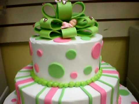 BABY SHOWER/ PINK N GREEN   YouTube