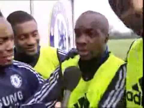 Too Funny Chelsea Drogba Essien Diarra