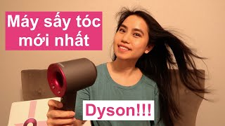 Review Máy Sấy Tóc Dyson Supersonic   Unboxing Dyson Supersonic Hairdryer