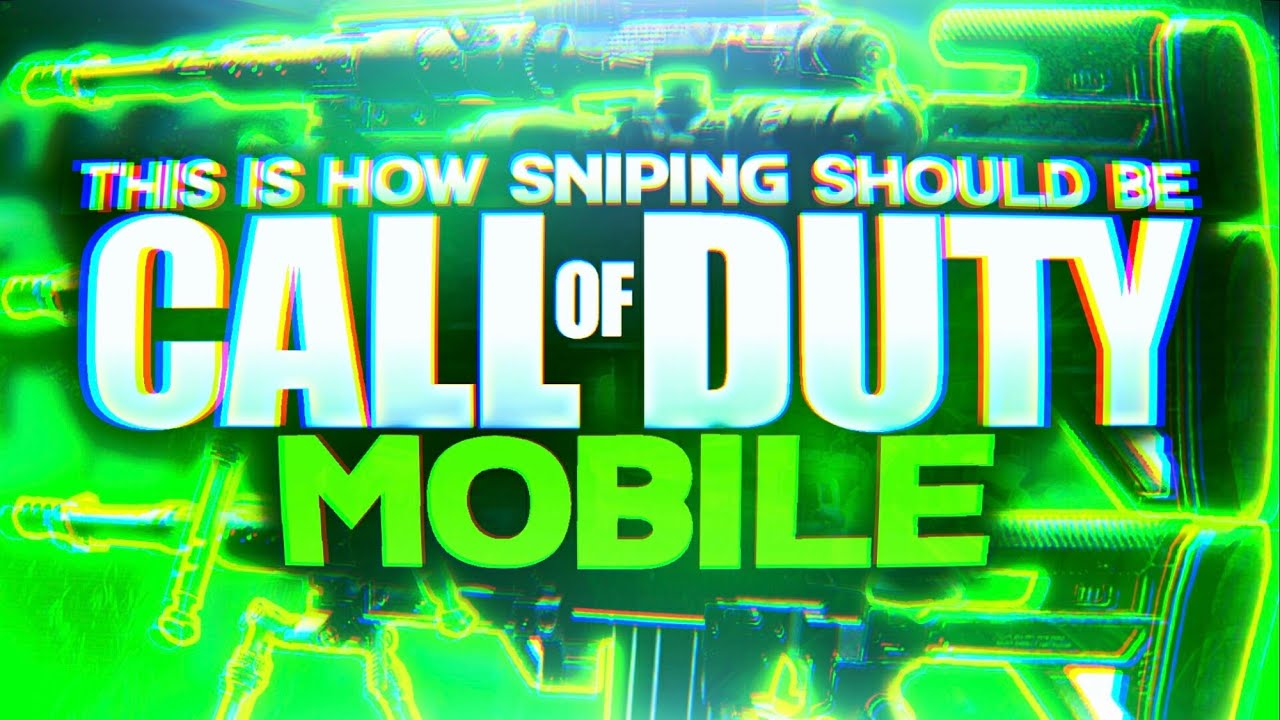 Call Of Duty Mobile This Is How Sniping Should Be Free For