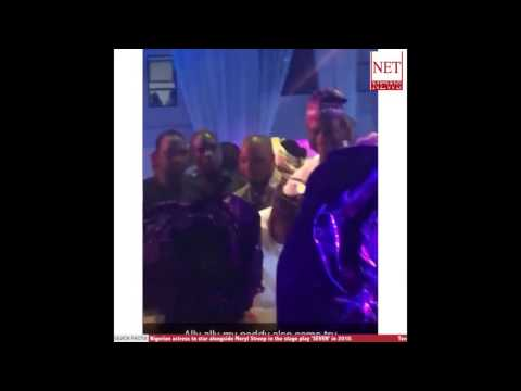 (Video) Aliko Dangote and Ooni of Ife grace the occasion #Tsquare2016