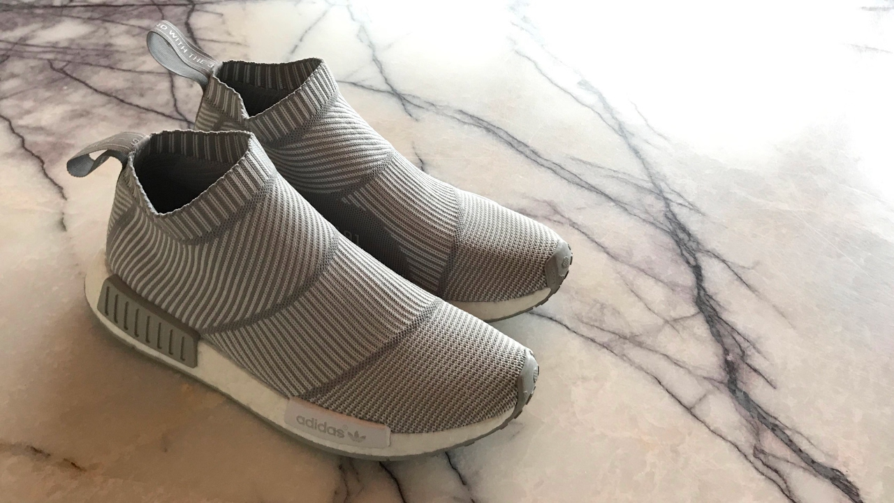 Adidas NMD City Sock PK GreyWhite Review and on feet by