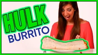 SECRET MENU TACO BELL BURRITO?! Taste Test With TheGabbieShow