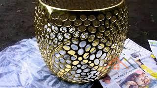 Brass table Meja Kuningan Kerajinan Tembaga Boyolali