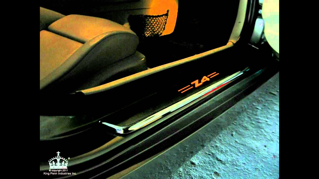 Windrestrictor 174 Bmw Z4 Custom Lighted Door Sills Youtube
