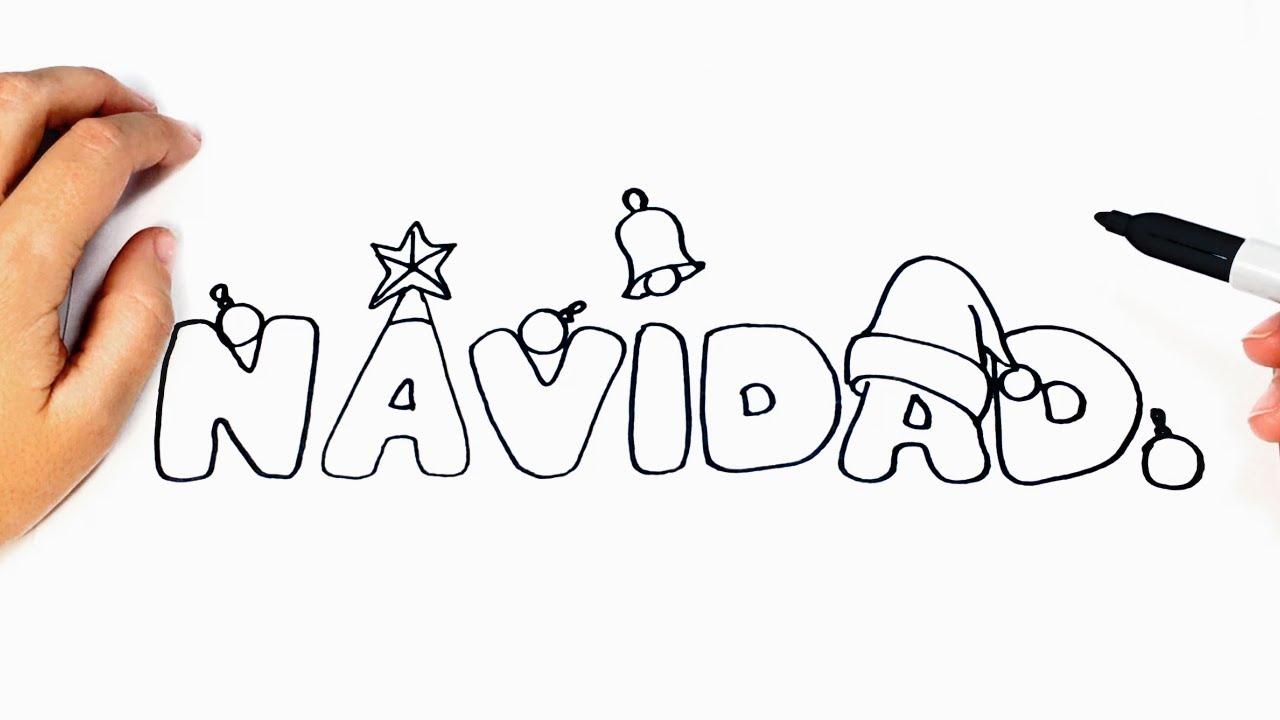 Como Dibujar La Navidad Paso A Paso Youtube