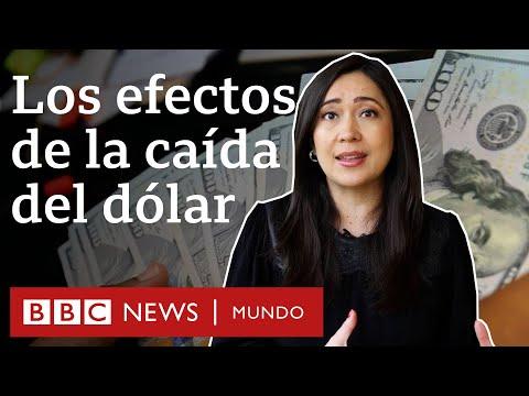 Por qué está cayendo el dólar y cómo puede afectar a América Latina | BBC Mundo