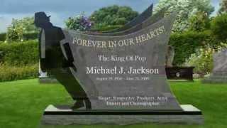 Michael Jackson Gravestone Memorials Design