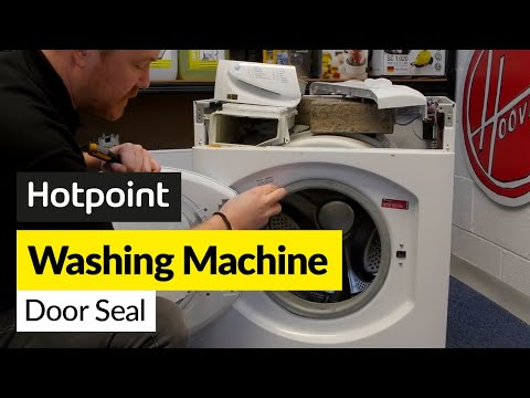 How To Replace A Hotpoint Washing Machine Door Seal