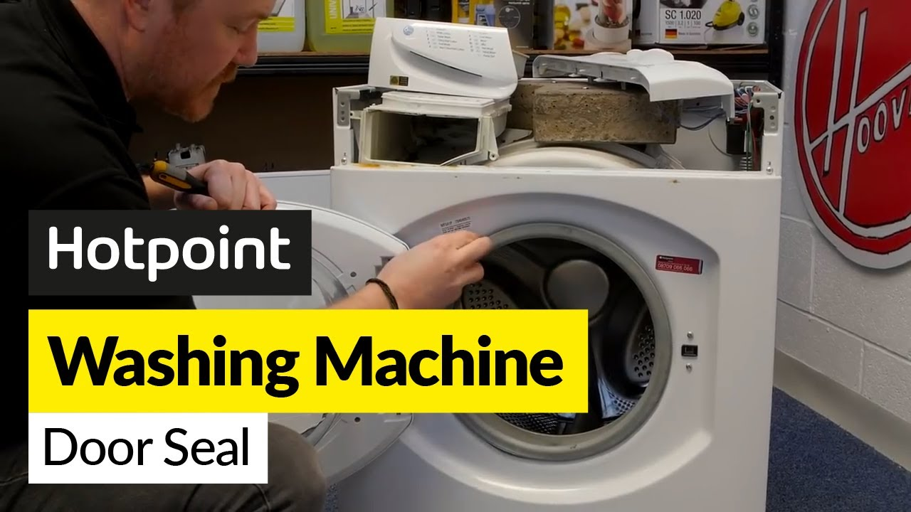 How To Replace A Hotpoint Washing Machine Door Seal Youtube Ariston Wiring Diagram