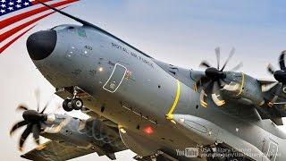 エアバスA400M軍用輸送機の機内・コックピット映像ほか 英仏空軍 - Airbus A400M Military Transport Aircraft Inside, Cockpit & More