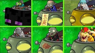 Dr Zomboss All Versions Mod Plants vs Zombies