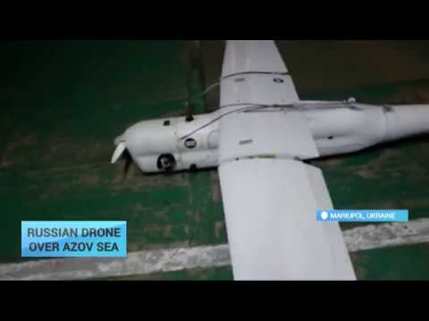 "A Russian ""spy"" drone has been spotted over the Sea of Azov"