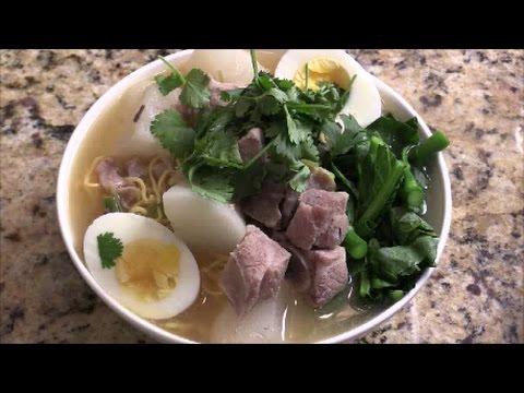 How To Make Ramen Miso Noodle Soup