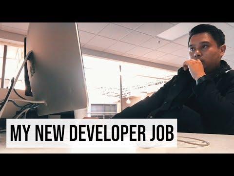 My FIRST DAY At My NEW Web Developer Job!   #devsLife