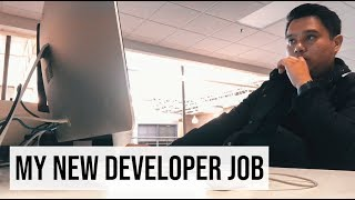 Gambar cover My FIRST DAY At My NEW Web Developer Job! | #devsLife