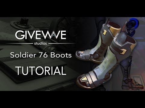 Soldier 76 cosplay mask tutorial