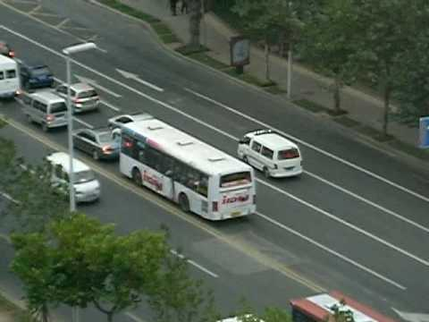 Qingdao ambulance responding/ 青岛救护车